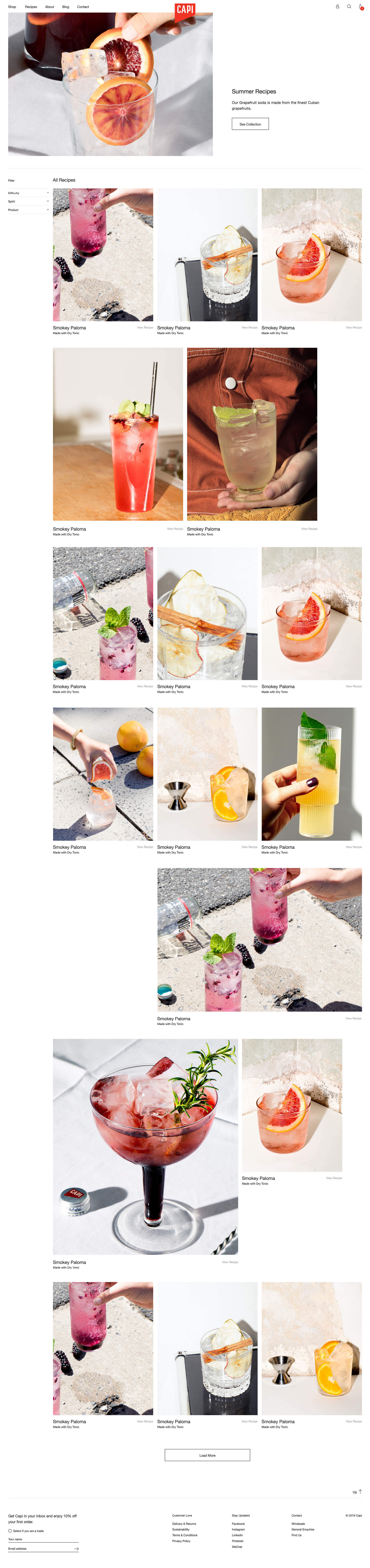 Capi Desktop Summer Recipes