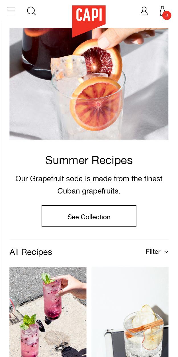 Capi Mobile Summer Recipes
